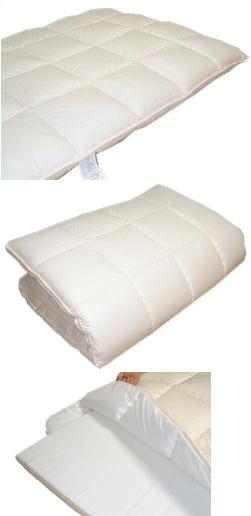 メディカル布団-ダブル:体圧分散カセット敷厚手敷ふとん