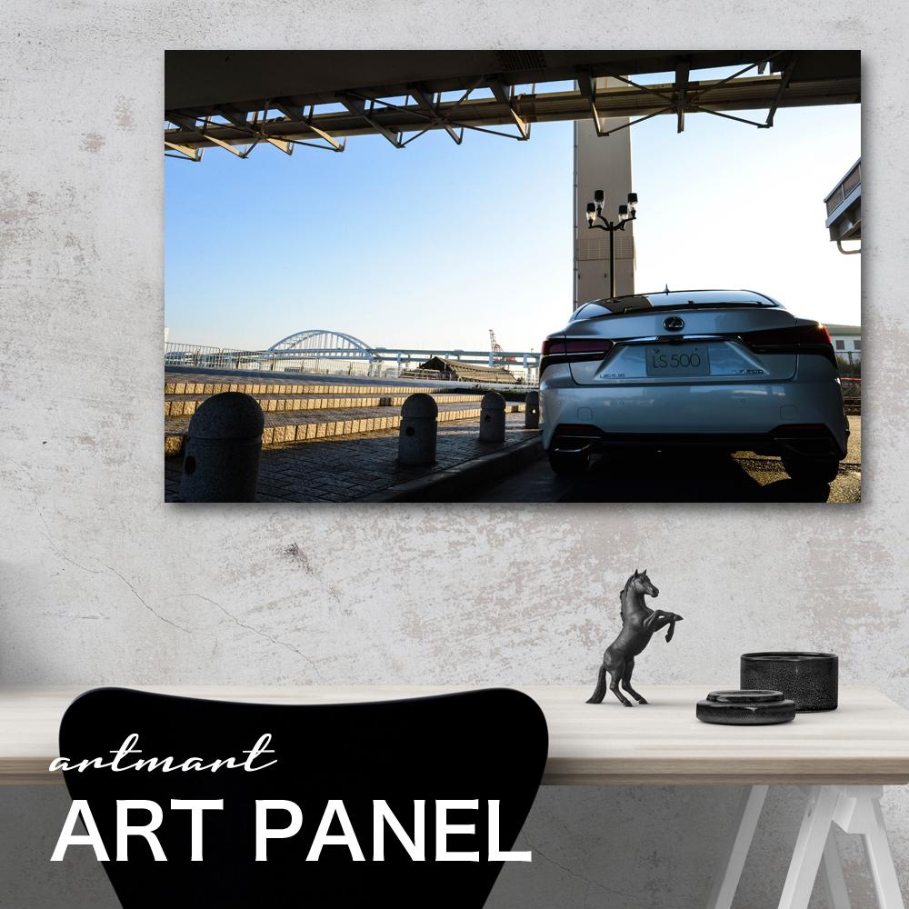 レクサス LS500 500h カスタム【日本製】アートボード/アートパネル artmart アートマート 絵や写真をアルミフレームで表現。壁紙 額縁 ウォールステッカー 壁掛け フォトフレームでお部屋のイメージアップ! モノトーン 花 海 モノクロ 北欧 車_ls500_dsc_0060
