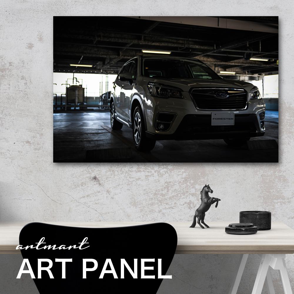 フォレスター Sk9 Ske 型 カスタム フォト Artmart 日本製 アートボード モノクロ アートパネル Artmart アートマート 絵や写真をアルミフレームで表現 壁紙 額縁 ウォールステッカー フォト 壁掛けでお部屋のイメージアップ モノトーン 花 海 モノクロ 北欧 車