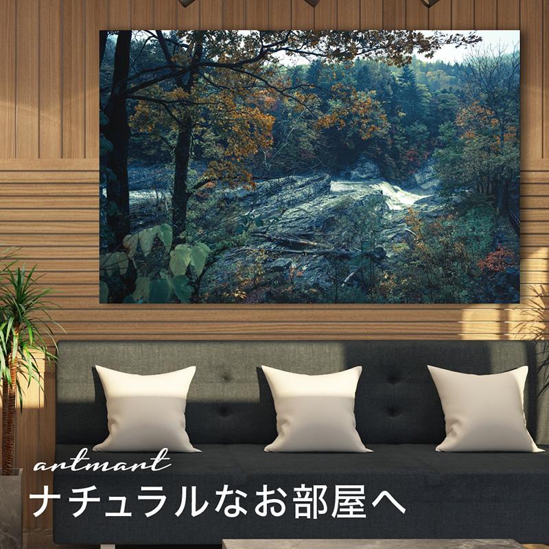 アートポスターやアートパネルで部屋をオシャレに!アートフレームで絵画やポスター 北欧を飾りウォールアートでインテリアが楽しくなる 自然_滝_dsc_1065