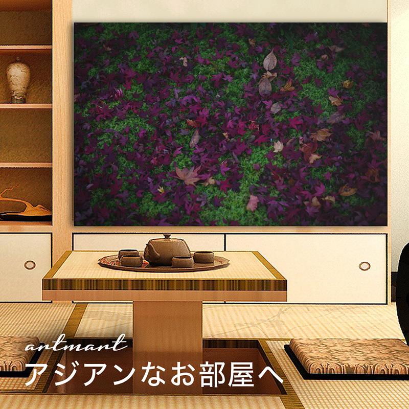 【日本製】アートパネル/ボード artmart アートマート 写真 アルミフレーム おしゃれ 綺麗 コーディネート 壁紙 額縁 ウォールステッカー フォト 小物 部屋 オフィス ホテル 旅館 病院 ホールのイメージアップ モノトーン 花 海 モノクロ 北欧 自然_葉_DSC_3556