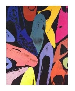 【ウォーホル Shoes,1980-1(高品質ジークレープリント)(660×813mm) Dust ポスター】Diamond