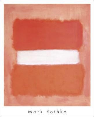 【アートポスター】White Center, 1957 (661×813mm) -ロスコ-