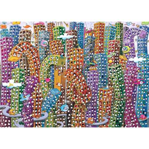 HEYE Puzzle・ヘイパズル 29495 Mordillo : City 2000ピース