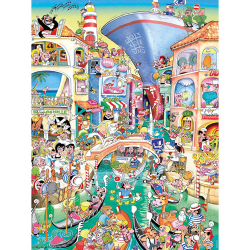 HEYE Puzzle・ヘイパズル 29574 Robert J. Crisp : Venice 1500ピース