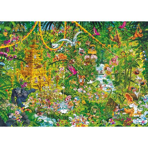 HEYE Puzzle・ヘイパズル 29892 Michael Ryba : Deep Jungle 2000ピース