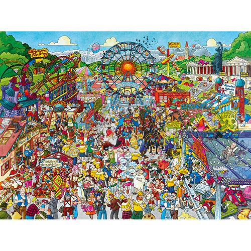 HEYE Puzzle・ヘイパズル 29842 Christoph Schöne : Oktoberfest 1500ピース