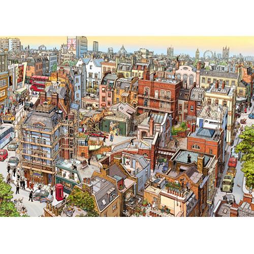HEYE Puzzle・ヘイパズル 29753 Göbel / Knorr : Sherlock & Co., 2000ピース