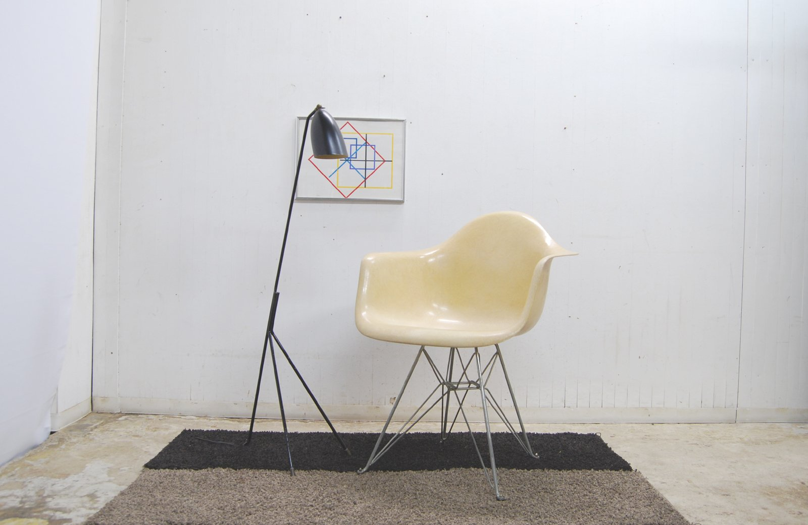 eames armshell chair eiffel-base イームズ アームシェルチェア ハーマンミラー