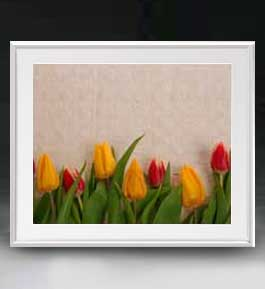 Flowers フラワーズ ♯021 アートフレーム サイズL 【油絵 直筆仕上げ】【油彩 布キャンバス 国内生産】 花の絵 静物画 641×531mm インテリアアート 送料無料