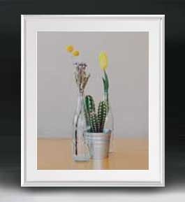 Flowers フラワーズ ♯057 アートフレーム サイズL 【油絵 直筆仕上げ】【油彩 布キャンバス 国内生産】 花の絵 静物画 641×531mm インテリアアート 送料無料