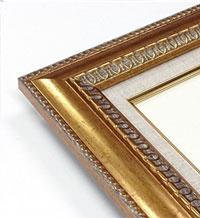 春の城下 F12サイズ油絵 直筆仕上げ額縁付油彩 風景画 オリジナルインテリア絵画 風水画 ゴールド額縁 757×6hdstQr