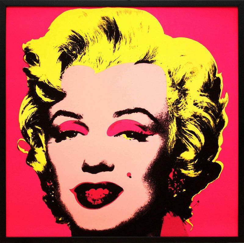 送料無料 アンディ ウォーホルポスター フレーム付き ウォーホル マリリン 人気ブランド モンロー ホットピンク アート 展示用フック付ポスター インテリア アンディウォーホル 1967 格安 価格でご提供いたします ポップアート 絵画インテリア