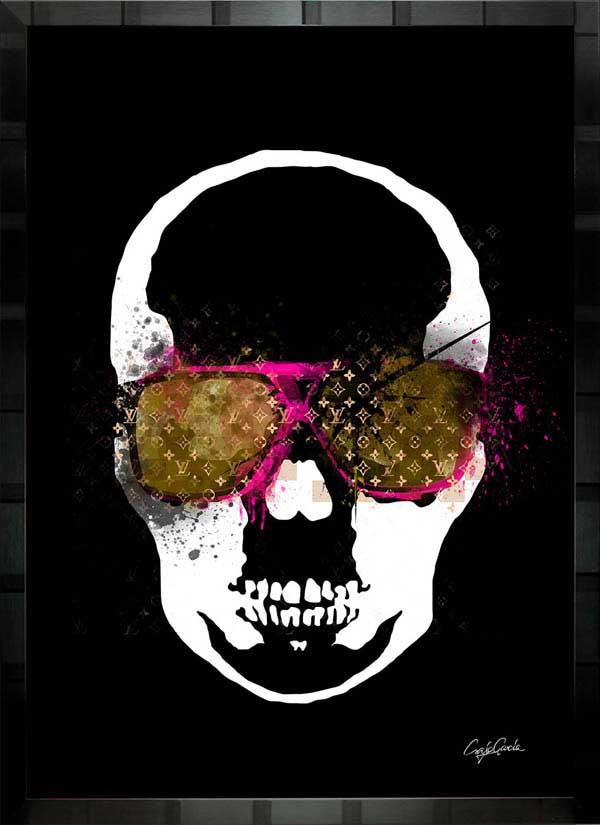 【絵画インテリア】ブランドオマージュアート/クレイグ・ガルシア「ルイ・ヴィトン/ペラフィネb」ポスター【インテリア】【ポップアート】【クレイグガルシア】【ヴィトン】【オマージュ】【パロディ】