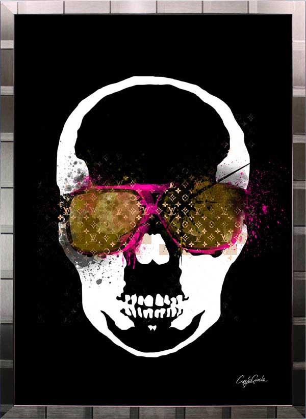 【絵画インテリア】ブランドオマージュアート/クレイグ・ガルシア「ルイ・ヴィトン/ペラフィネb(S)」ポスター【インテリア】【ポップアート】【クレイグガルシア】【ヴィトン】【オマージュ】【パロディ】