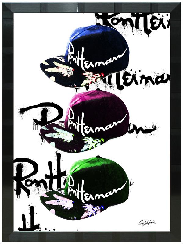 絵画 インテリア クレイグ・ガルシア オマージュアート 額縁3種展開 cgrh01 A2アートポスター ポップアート