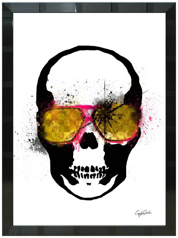 絵画 インテリア クレイグ・ガルシア オマージュアート 額縁3種展開 cgtkg01 A2アートポスター ポップアート