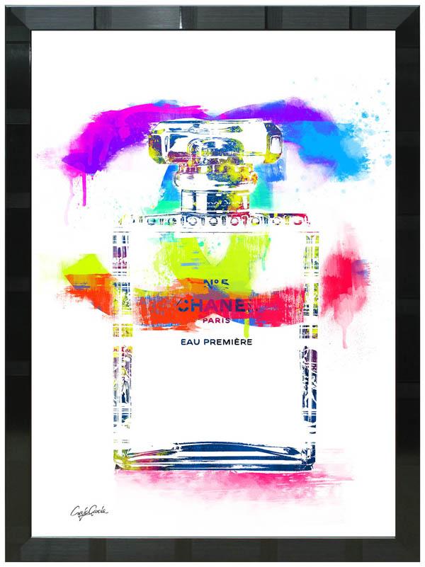 絵画 インテリア クレイグ・ガルシア オマージュアート 額縁3種展開 cgthe01 A2アートポスター ポップアート