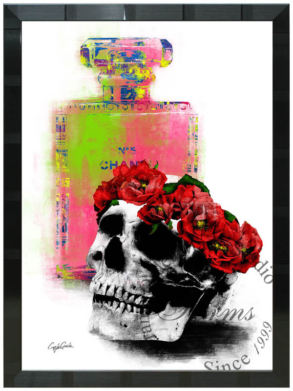 絵画 インテリア クレイグ・ガルシア オマージュアート 額縁3種展開 cgdsr01 A2アートポスター ポップアート