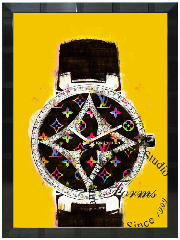 絵画 インテリア クレイグ・ガルシア オマージュアート 額縁3種展開 cgntl02 A2アートポスター ポップアート