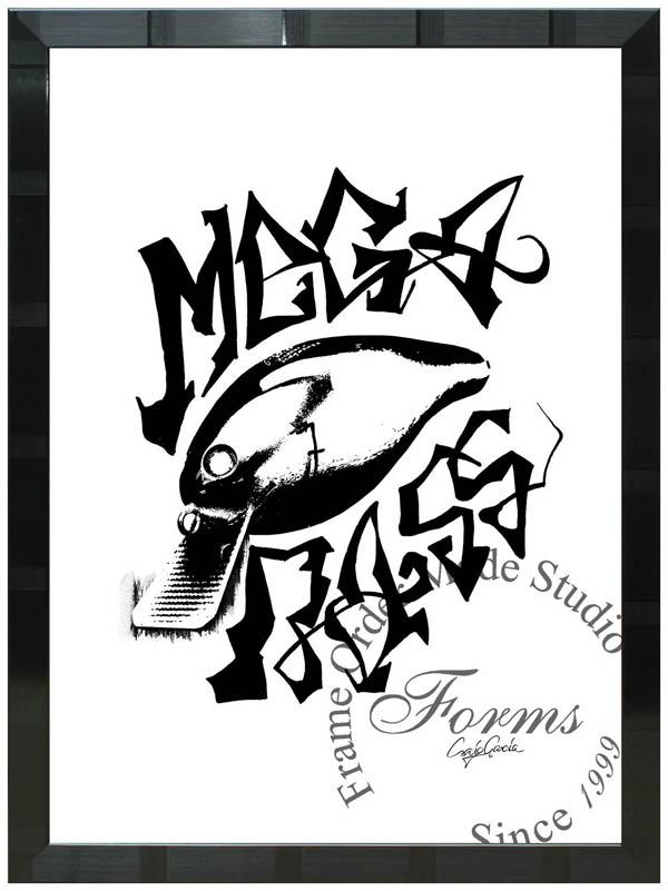 絵画 インテリア クレイグ・ガルシア オマージュアート 額縁3種展開 cgmcst03 A2アートポスター ポップアート