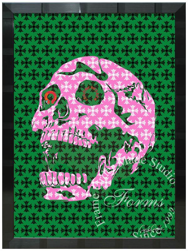 絵画 インテリア クレイグ・ガルシア オマージュアート 額縁3種展開 cgcs04 A2アートポスター ポップアート