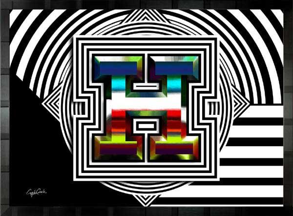 【絵画インテリア】ブランドオマージュアート/クレイグ・ガルシア「エルメス/スパイシー」ポスター【インテリア】【ポップアート】【クレイグガルシア】【エルメス】【オマージュ】【パロディ】