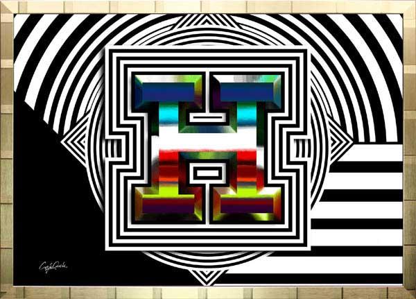 【絵画インテリア】ブランドオマージュアート/クレイグ・ガルシア「エルメス/スパイシー(G)」ポスター【インテリア】【ポップアート】【クレイグガルシア】【エルメス】【オマージュ】【パロディ】