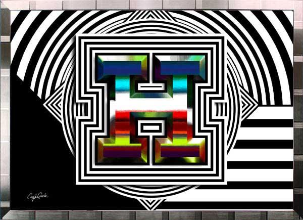 【絵画インテリア】ブランドオマージュアート/クレイグ・ガルシア「エルメス/スパイシー(S)」ポスター【インテリア】【ポップアート】【クレイグガルシア】【エルメス】【オマージュ】【パロディ】