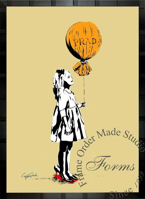 【絵画インテリア】ブランドオマージュアート/クレイグ・ガルシア「プラダ/ロング・エイジe」ポスター【インテリア】【ポップアート】【クレイグガルシア】【プラダ】【オマージュ】【パロディ】