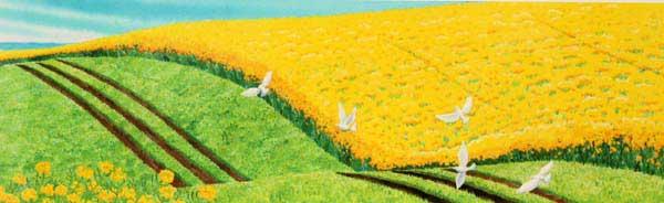栗乃木ハルミ「Peace/ピース」展示用フック付ジークレ【インテリア】【アート】【くりのき はるみ】【くりのきはるみ】【絵画インテリア】