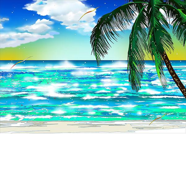 ■鈴木英人■版画「海の素顔に惹かれて」