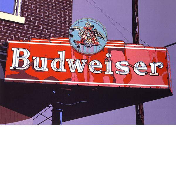 全てのアイテム 1985年■鈴木英人■版画「BUDWEISER」 1985年, オーセル:487fcd7e --- clftranspo.dominiotemporario.com