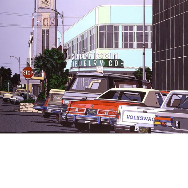 高級品市場 1985年 JEWELRY」■鈴木英人■版画「AMERICAN JEWELRY」 1985年, 相馬市:0819418f --- clftranspo.dominiotemporario.com