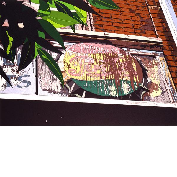 ■鈴木英人■版画「DRINK PEPSI COLA」 1988年