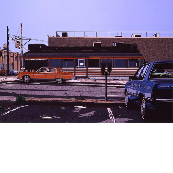安い割引 1987年■鈴木英人■版画「DINER」 1987年, お手頃価格:e2249326 --- canoncity.azurewebsites.net