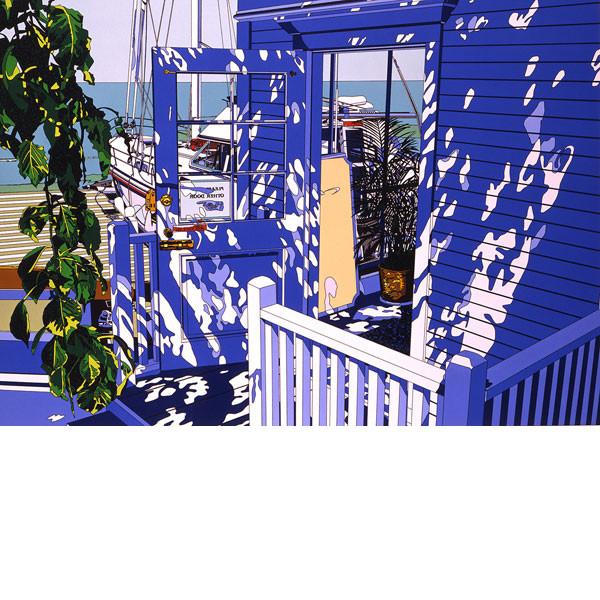【値下げ】 ■鈴木英人■版画「FISHERMAN'S 2」 TABLE 2」 1991年 TABLE 1991年, Lifepot-Select(ライフポット):19a0cc42 --- konecti.dominiotemporario.com