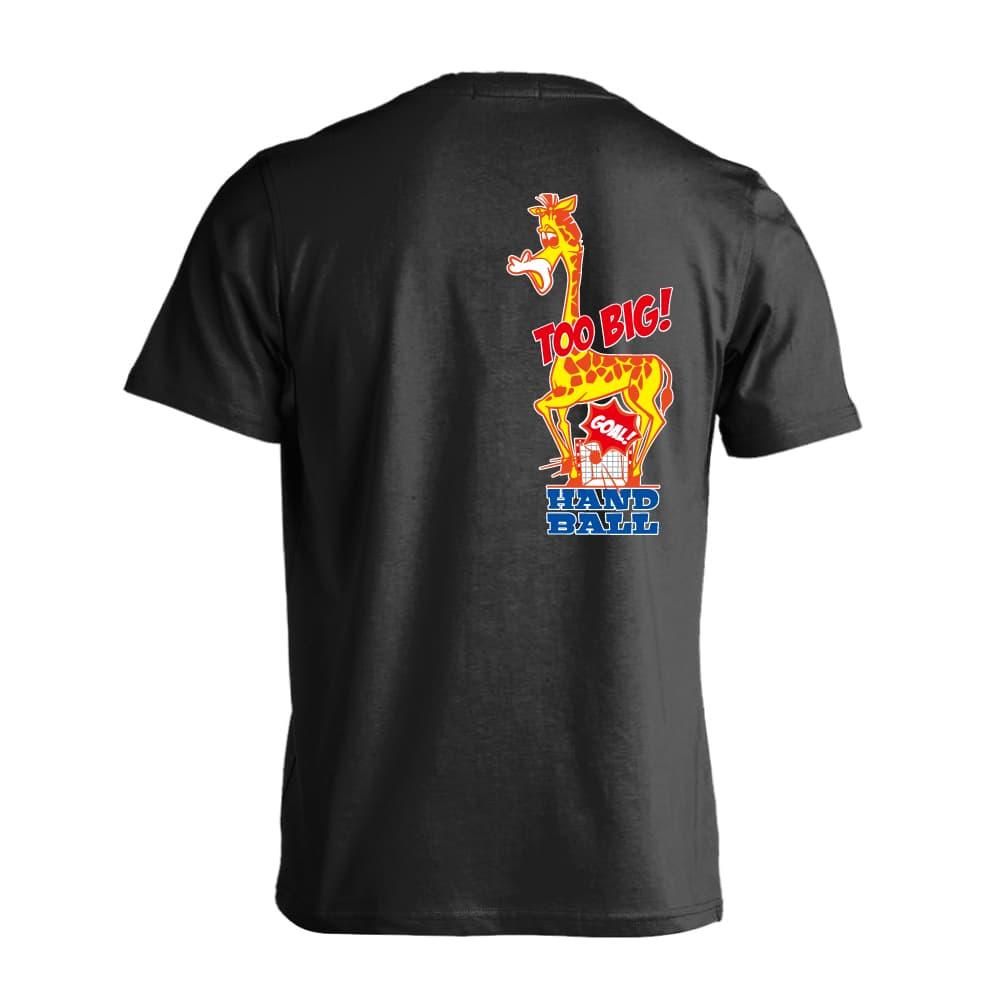 HANDBALL 別倉庫からの配送 OF ZOO 大きすぎるキリン編 ハンドボールTシャツ 半袖プレミアムドライ ARTWORKS-KOBE 130cm-XXXL 全8色 アートワークス神戸 送料無料 数量は多