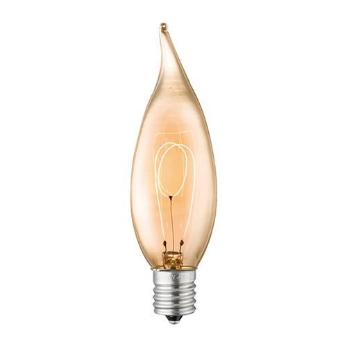 【アートワークスタジオ公式】ARTWORKSTUDIOBU-1147 E17/7W カーボンシャンデリア電球(クリア)電球色