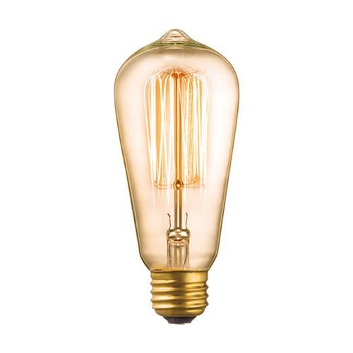 超特価 ARTWORKSTUDIO 公式サイト アートワークスタジオE26 40W ST58カーボン電球 クリア 電球色