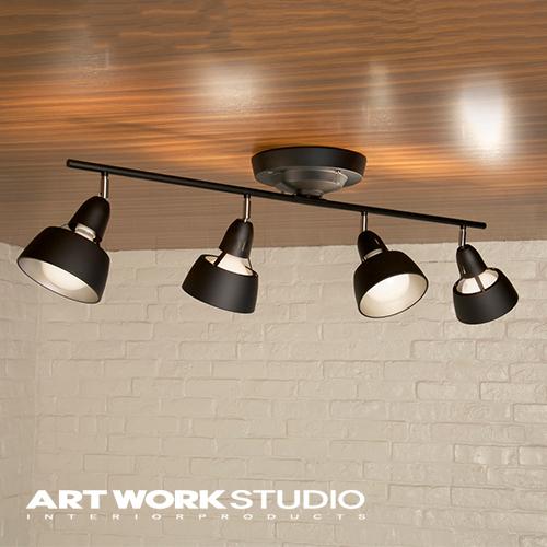 シーリングランプ 4灯ARTWORKSTUDIO アートワークスタジオHARMONY GRANDE-remote ceiling lamp ハーモニーグランデリモートシーリングランプE26 100W 角度調整 3段階点灯切替 リモコン付 LED対応 スポット 【アートワークスタジオ公式】