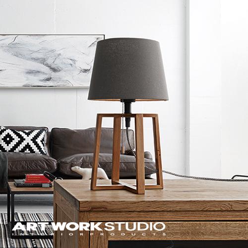 テーブルランプ 1灯 ARTWORKSTUDIO アートワークスタジオ Espresso-table lamp エスプレッソテーブルランプ E26 60W 布シェード 木製フレーム LED対応 おしゃれ 北欧 シンプル ナチュラル【アートワークスタジオ公式】