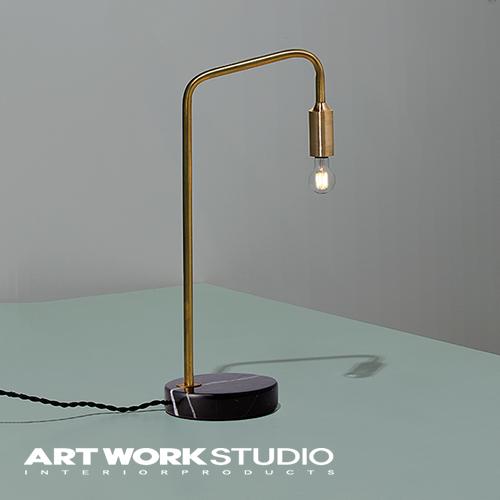 【アートワークスタジオ公式】デスクライト 真鍮 レトロ アンティーク ベーシック シンプル 【NEW】Barcelona-desk lamp バルセロナデスクランプ
