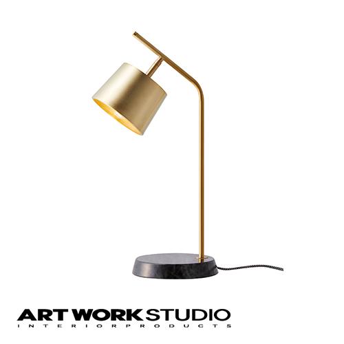 デスクランプ 1灯 ARTWORKSTUDIO アートワークスタジオ Panama-desk lamp パナマデスクランプ E17 40W タッチスイッチ 3段階点灯切替 真鍮 大理石 調光対応型LED対応 おしゃれ 北欧 アンティーク【アートワークスタジオ公式】