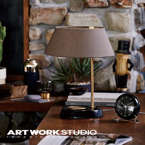 【アートワークスタジオ公式】テーブルランプ 布シェード 木製 おしゃれ 北欧 モダン【NEW】Esprit-table lamp エスプリテーブルランプ