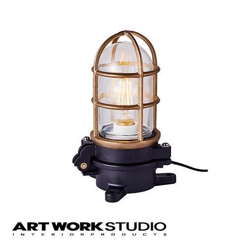 【アートワークスタジオ公式】船舶 照明 マリンライト LED 屋内 洗面Navy base-basic lamp with cableネイビーベースベーシックランプウィズケーブル