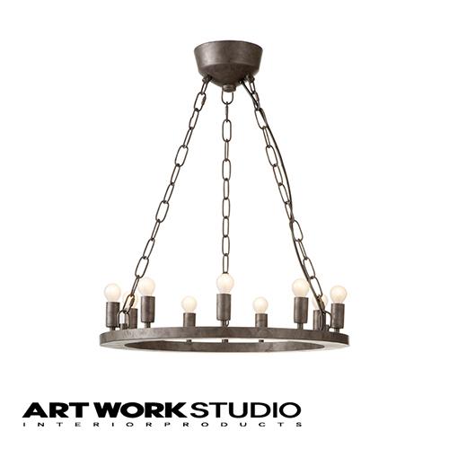 【アートワークスタジオ公式】ペンダントライト 大型 アンティーク インダストリアル シャンデリア 6畳Elements 9 エレメンツ9