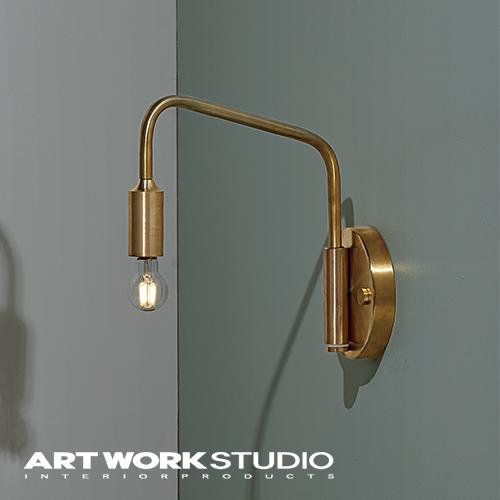 【アートワークスタジオ公式】ウォールランプ ベーシック 真鍮 アンティーク シンプル レトロ 【NEW】Barcelona-wall lamp (S) バルセロナウォールランプ (S)