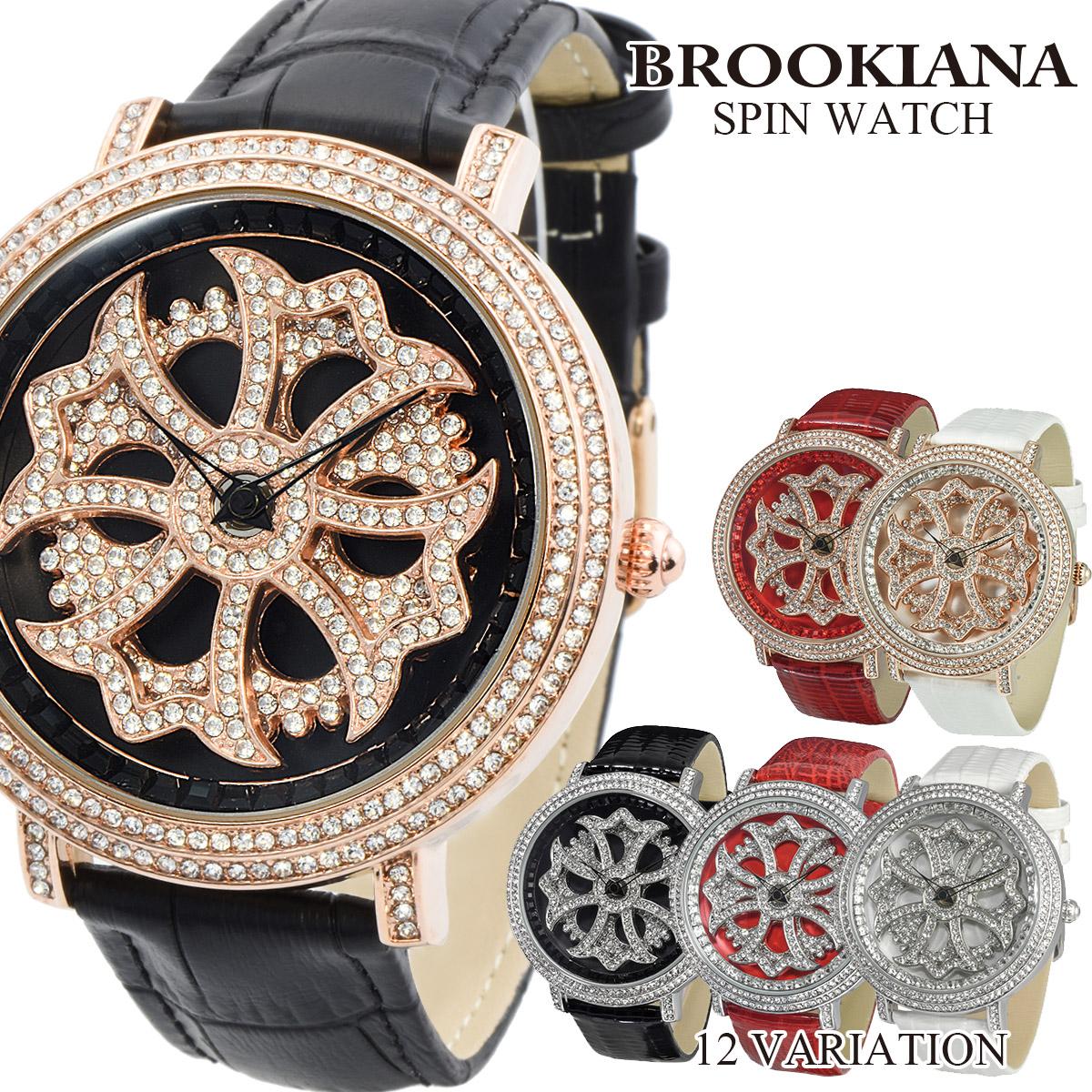 ブルッキアーナ BROOKIANA くるくる SPIN スピン BA2310 メンズ レディース 腕時計 クオーツ ぐるぐる時計