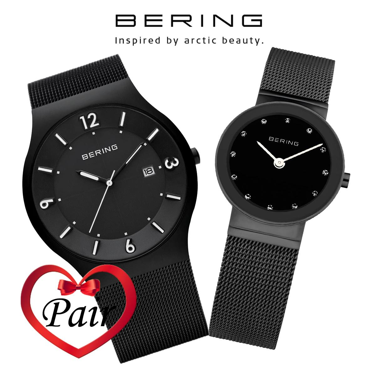 【全品送料無料】 ベーリング BERING 11940-222 10126-077 ペア 時計 腕時計